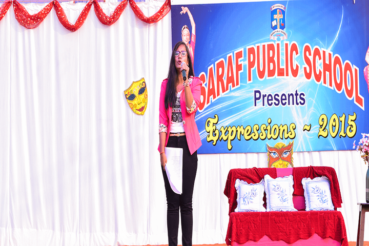 Saraf Public School-Singing Competition