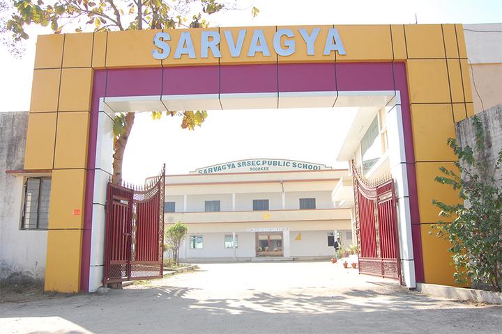 Sarvagya Public School-Entrance
