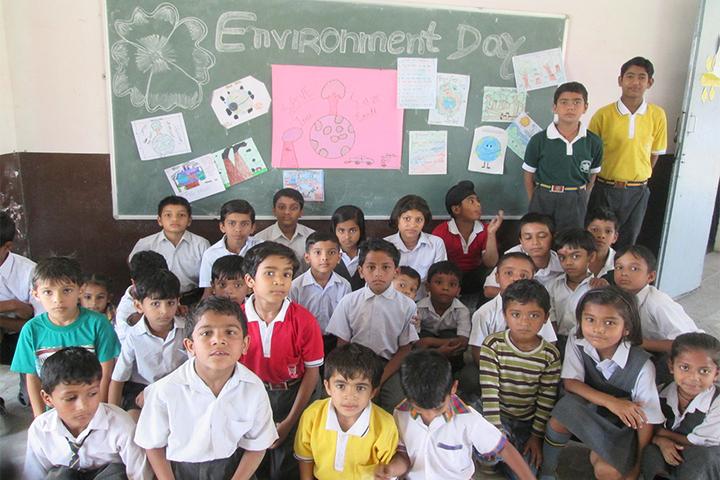 Sarvagya Public School-Environment Day