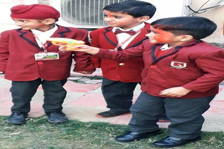Scholars Valley International School-Holi Celebrations