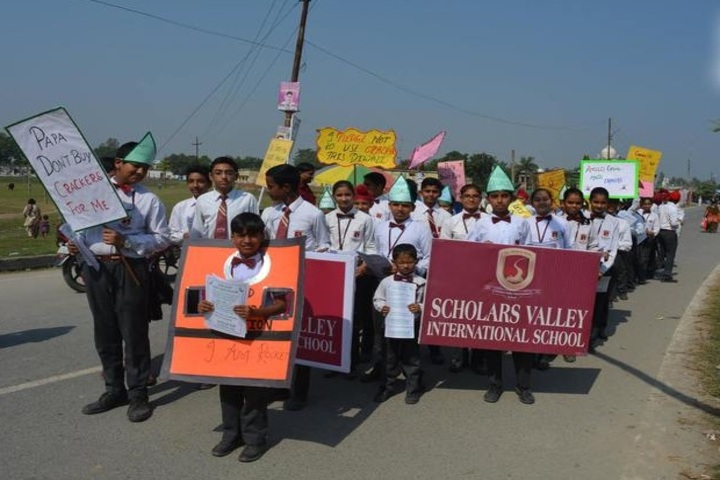Scholars Valley International School-Rally