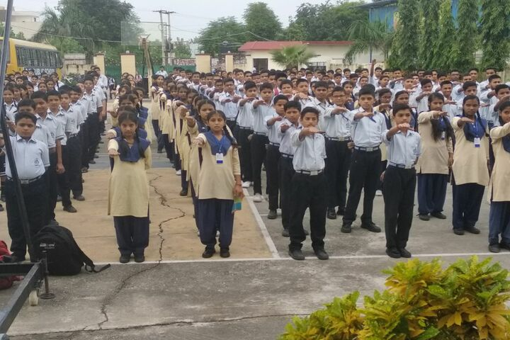 Shanti Memorial Public School-Assembly