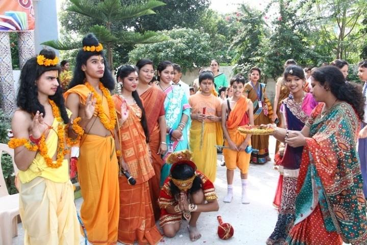 Shanti Memorial Public School-Dussera Celebrations