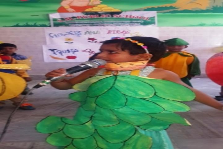 Shanti Memorial Public School-Poem Recitation