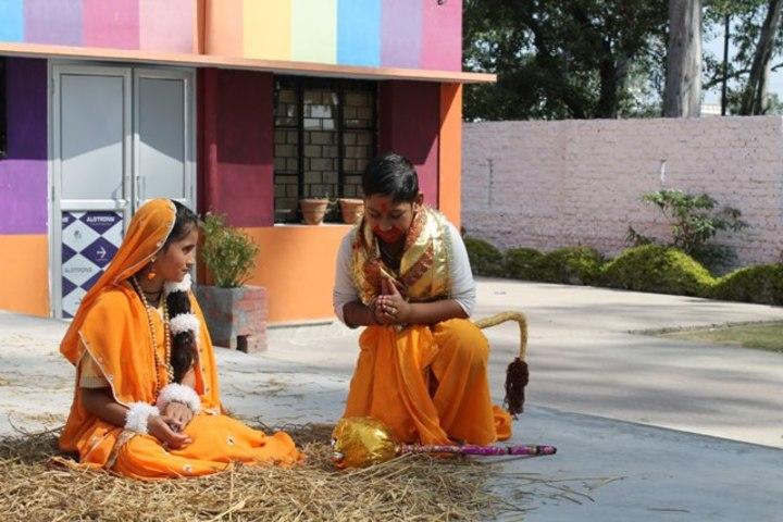 Shemford School-Dussehra Skit