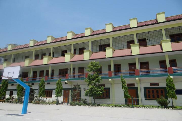 Shiksha Bharati Secondary School-Building
