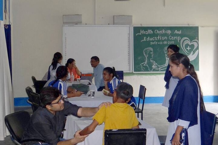 Shiksha Bharati Secondary School-Health Checkup