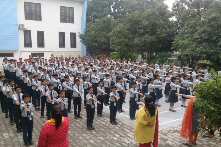 Shivalik Public School-Assembly