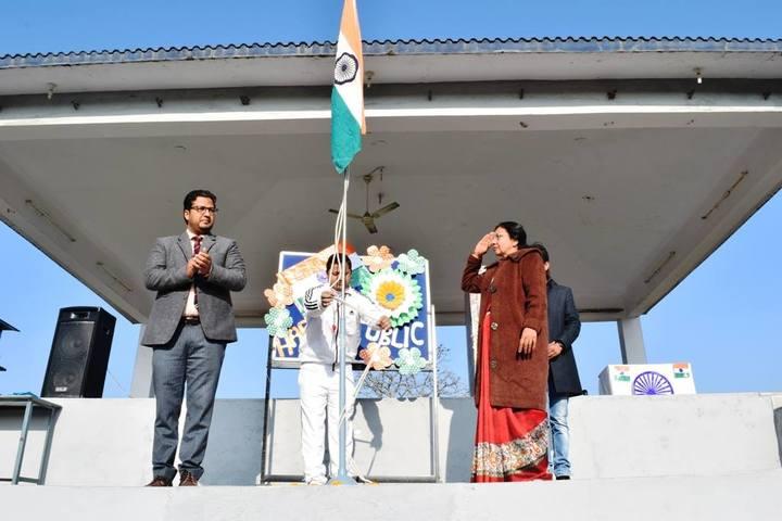 Shivalik Academy-Flag Hosting