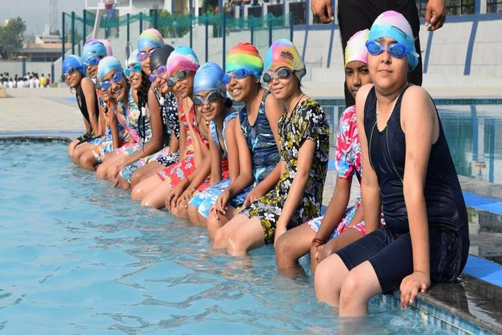 Shivalik Academy-Pool Party