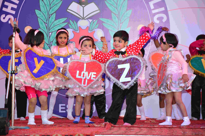 Shree Yogeshwar Public School-Kids Dances