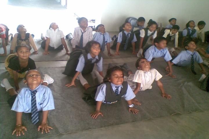 Shree Yogeshwar Public School-Yoga