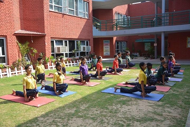 Tribune Model School-Yoga