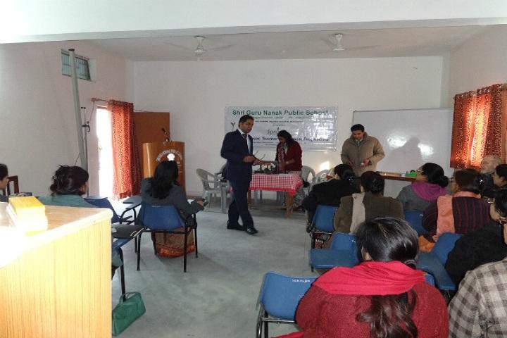 Shri Guru Nanak Public School-Conference Hall
