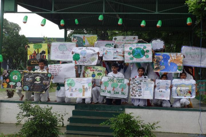 Shri Guru Nanak Public School-Earth Day