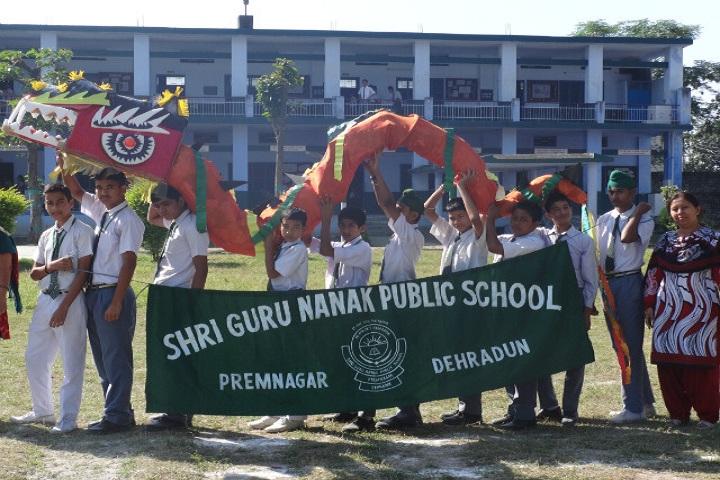 Shri Guru Nanak Public School-Sports Day Event