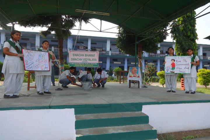 Shri Guru Nanak Public School-Swachh Bharat Awareness Event