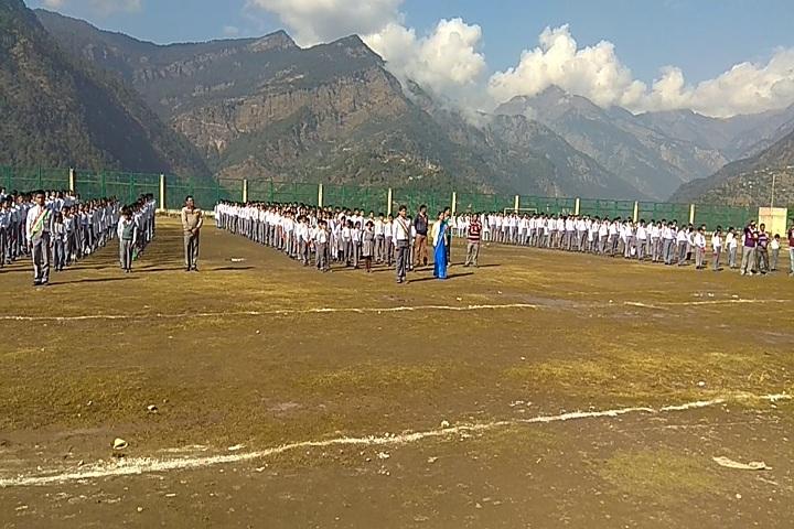 Shri Guru Ram Rai Public School-Play Ground