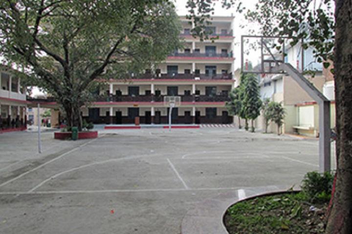 Shri Guru Ram Rai Public School-Basket Ball Ground