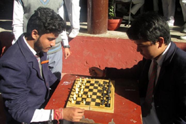 Shri Guru Ram Rai Public School-Chess Competiton