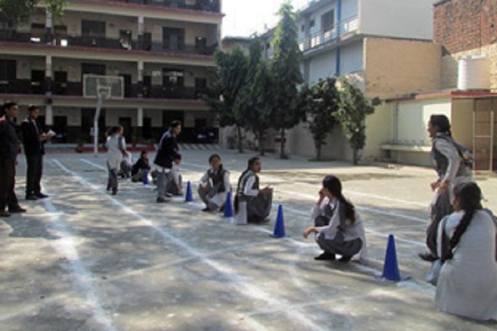 Shri Guru Ram Rai Public School-Kho Kho Competition