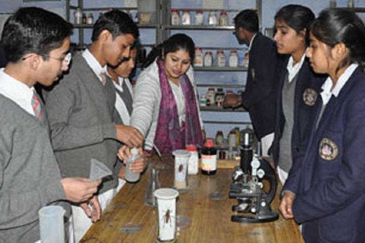 Shri Guru Ram Rai Public School-Biology Lab