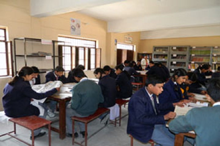 Shri Guru Ram Rai Public School-Library