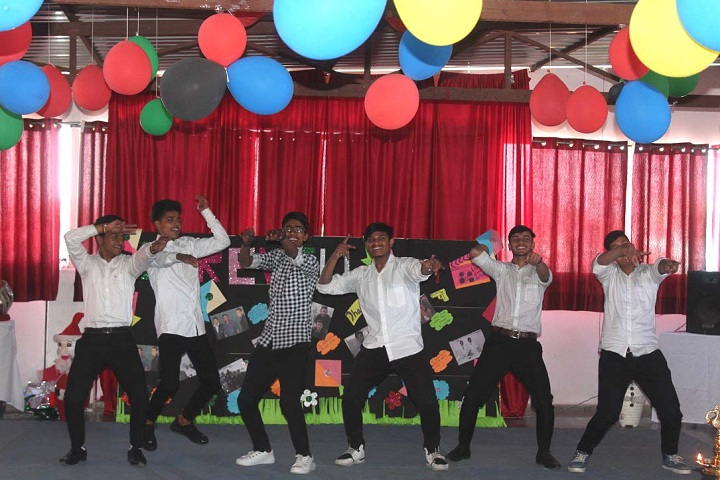 Siddharath Public School-Events dance