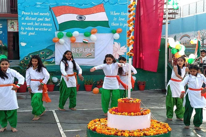Siddharath Public School-Events republic day programme