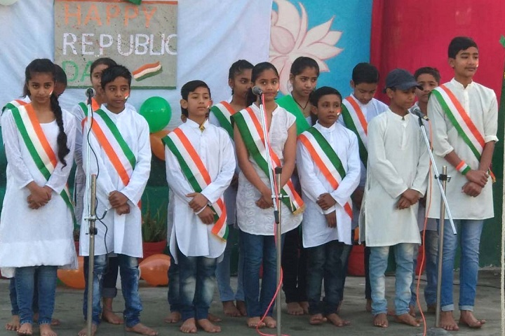 Siddharath Public School-Events republic day