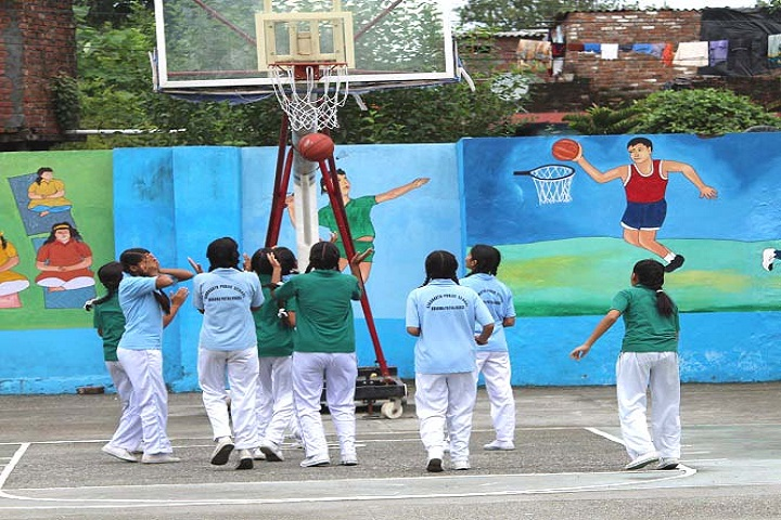 Siddharath Public School-Sports basketball