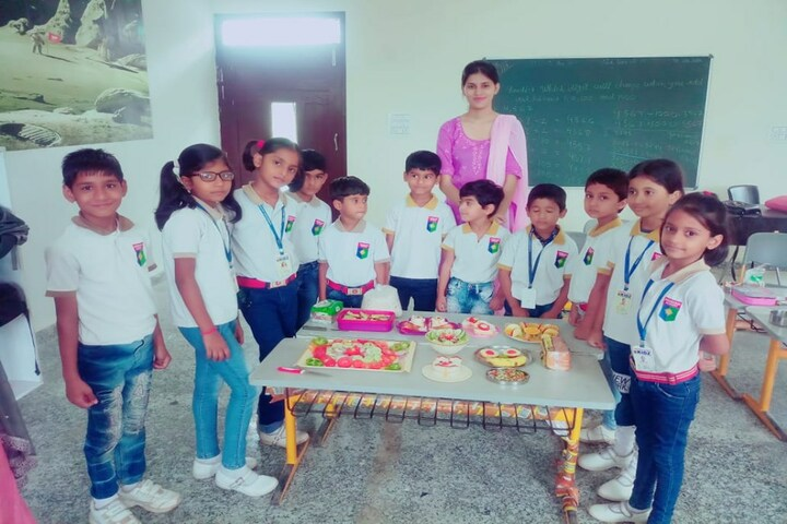 Aadeshwar Academy School Bastar-Cooking Competition
