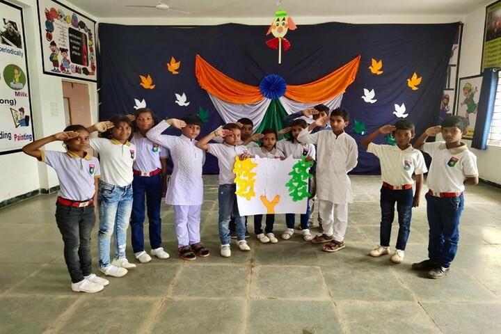 Aadeshwar Academy School Bastar-Independence Day