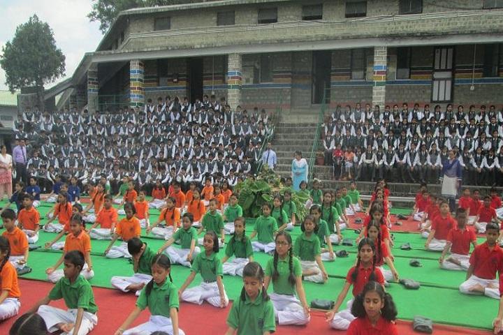 SOS-Hermann Gmeiner School-Yoga Activity