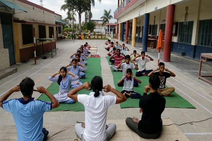Spring Field School-Yoga Activity