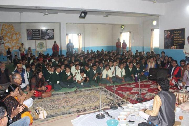 Aadharshila Vidya Mandir-Music Class