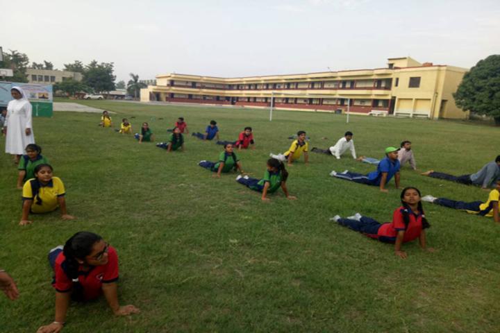 St MaryS Senior Secondary School-Yoga Day