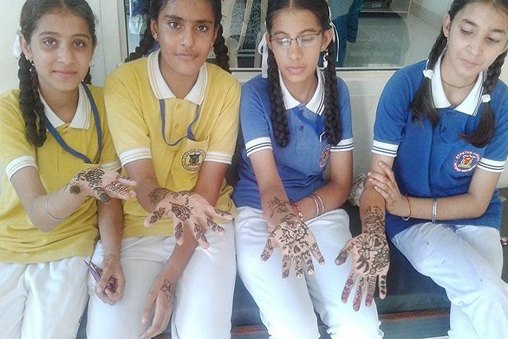 St Peters School-Rangoli Competition