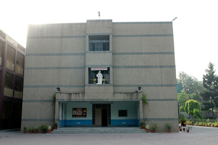 St AnnS Senior Secondary School-Campus