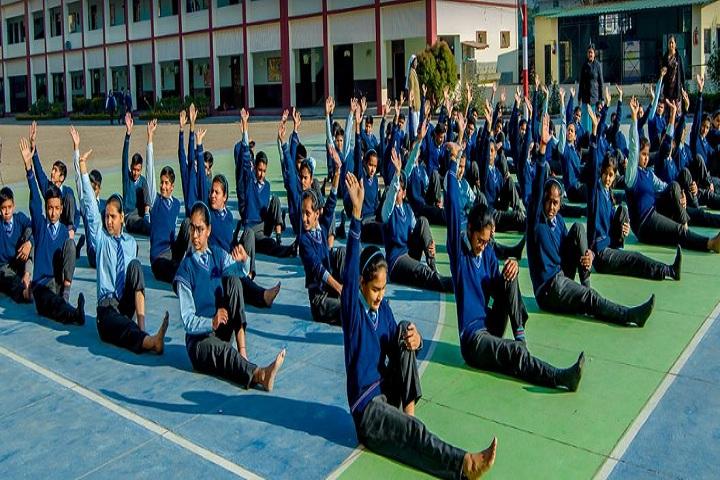 St MaryS Convent Senior Secondary School-Yoga