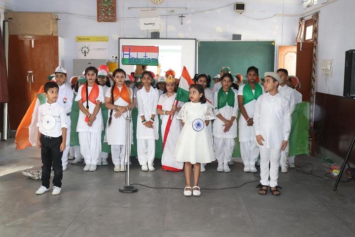 StMarysConventSrSecSchool-Independence Day Celebtrations