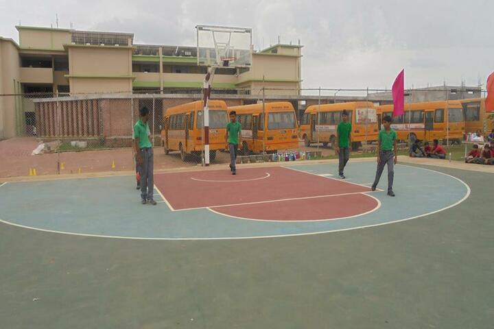 Abhyuday School Kawardha-Basket Ball Court