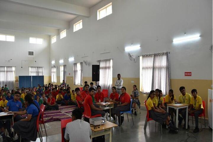 Abhyuday School Kawardha-Quiz Competition