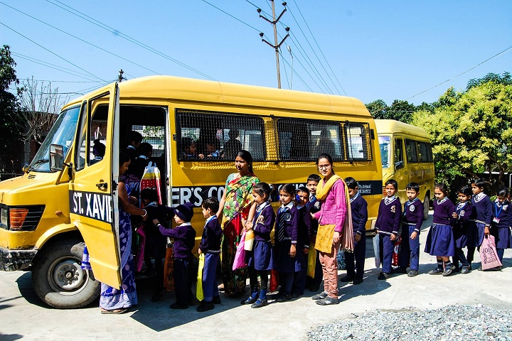 """St. Xaviers Convent School-Transport"""