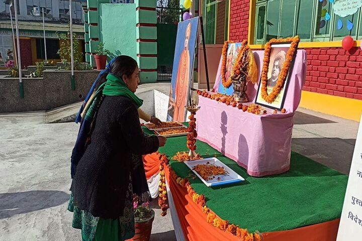 Swami Vivekanand Public School-Pooja