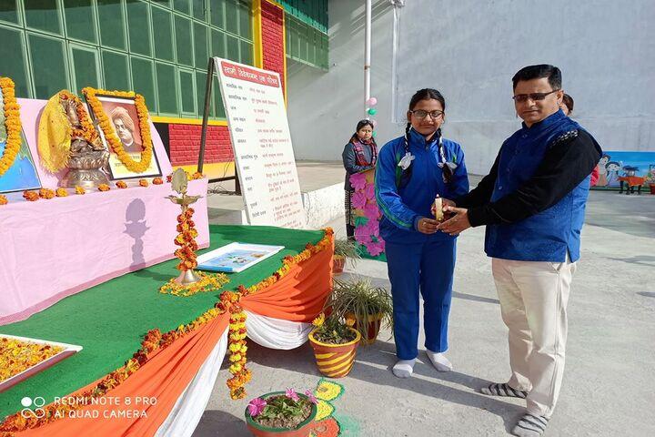 Swami Vivekanand Public School-Prize Distribution