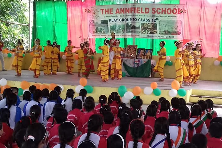 The Annfield School-Annual Day - Dance Activity