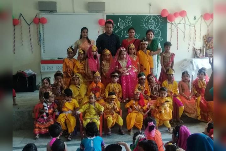 The Annfield School-Janmastami Celebration