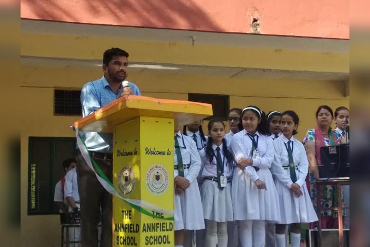 The Annfield School-Speech on Assembly