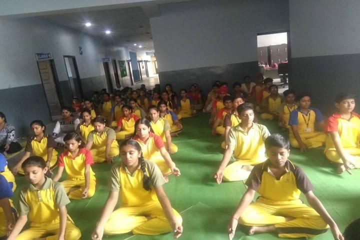 Academic Heights Public School Koriya-Meditation